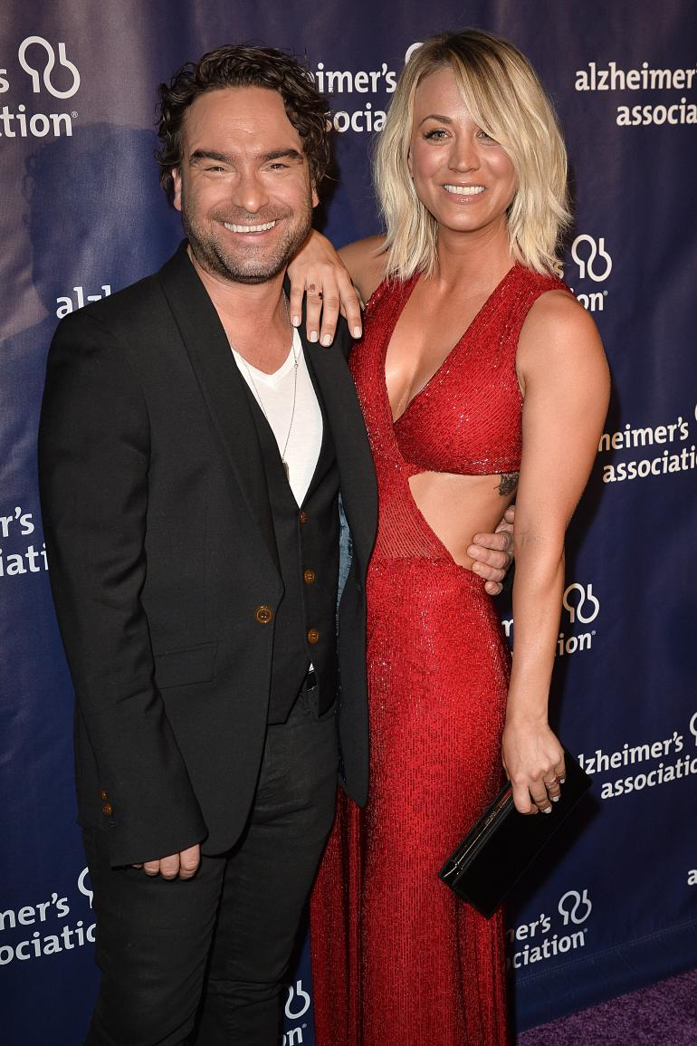 Johnny Galecki And Kaley Cuoco