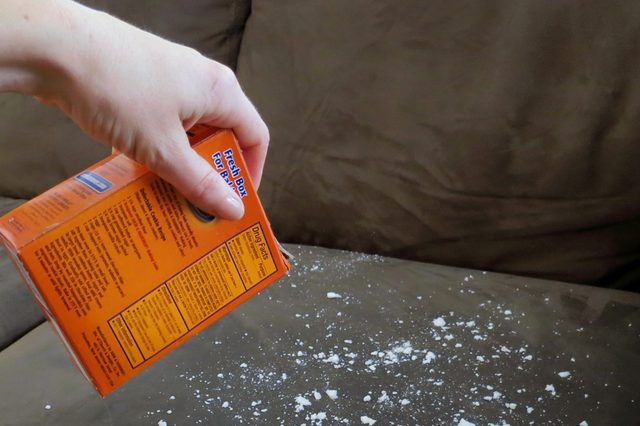 Refresh Your Couch Cushions With Baking Soda