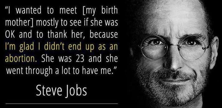 Steve Jobs was adopted