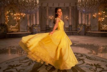 Belle And That Gorgeous Golden Dress