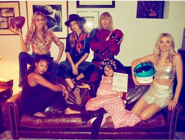Taylor Swift Gigi Hadid Camila Cabello Friends