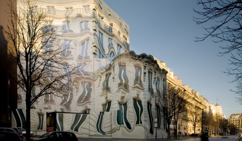 The Melting Trompe L'oeil Melting House