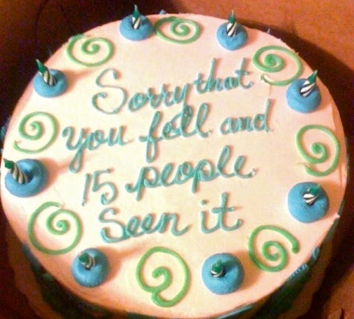 Hilarious Cake Messages That Are Winning As Theyre Failing