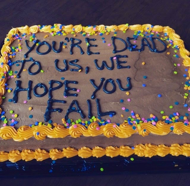 Hilarious Cake Messages That Are Winning As They're ...