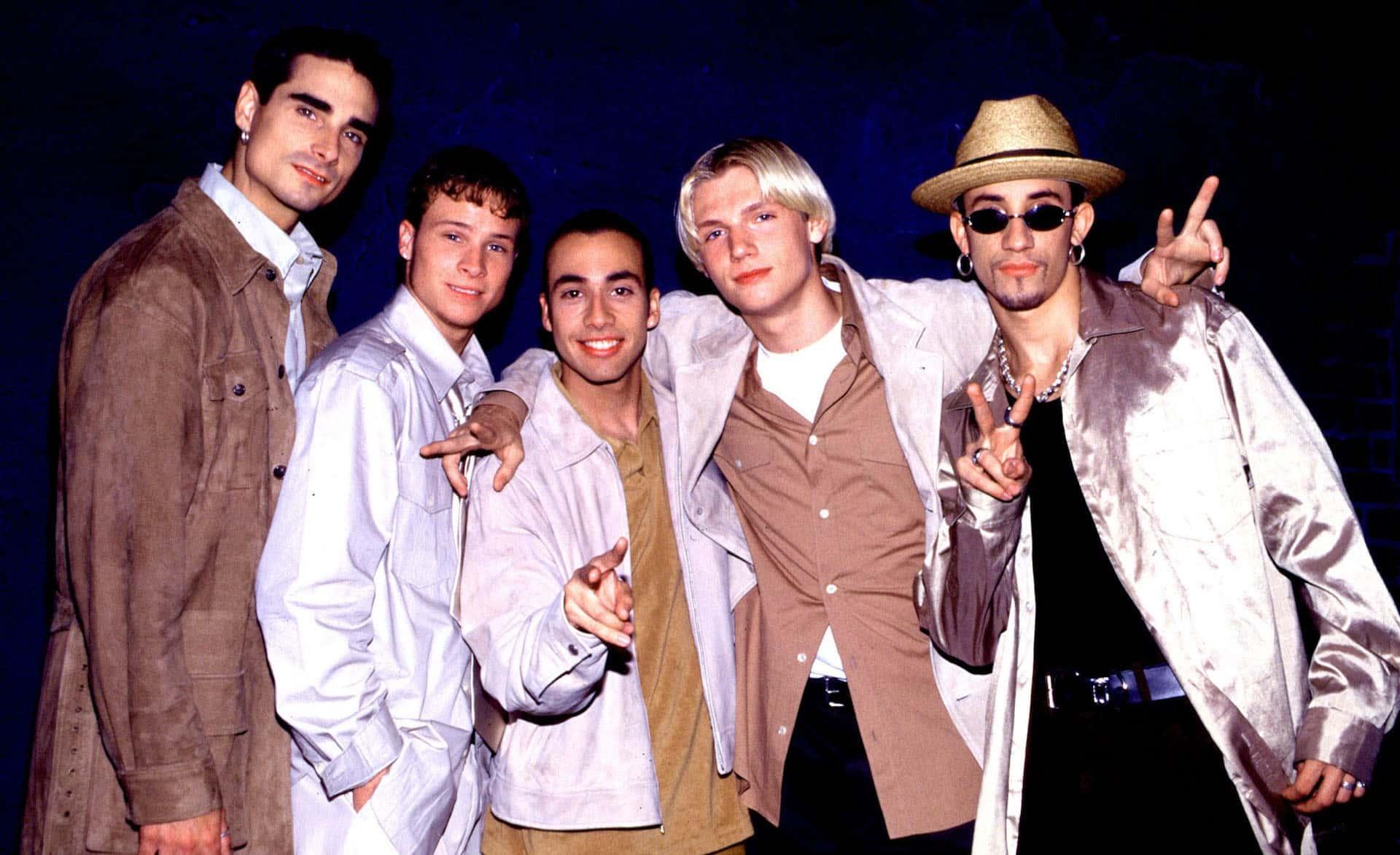 Backstreet Boys Everybody Backstreets Back