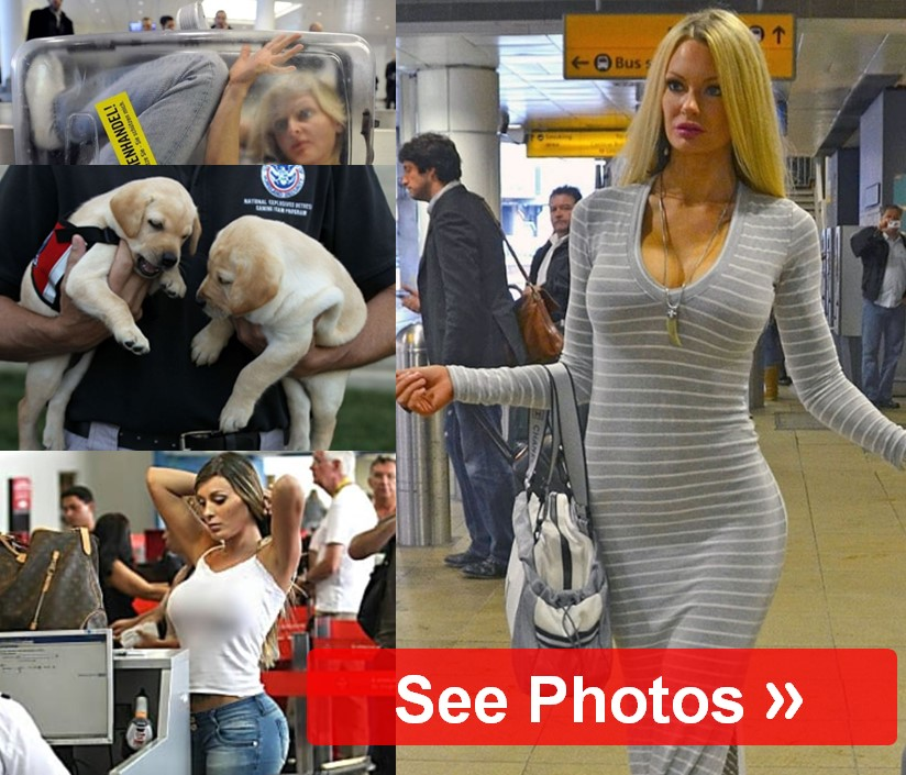 Hilarious Airport Pictures We're Lucky Someone